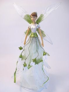 Gisela Graham Snowdrop Fairy Tree Topper Christmas 2014, Christmas Tree Ornaments, Christmas Ideas, Christmas Crafts, Gisela Graham, Fairy Tree, Flower Fairies, Sprites, Tree Toppers