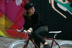 #Statebicycle Cardinal, #fixie, #fixed girl, East London