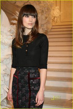 Keira in Chanel / Karl Lagerfeld.