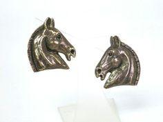 Hermes Cheval Earring Metal Bronze(BF053768)