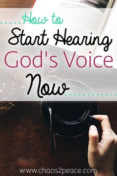 Do you have ears to hear God's voice? Have you ever wondered how to hear from…
