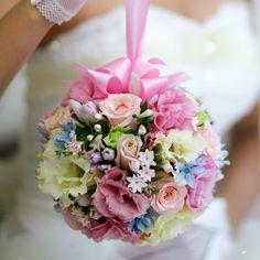 floral ball pomander  | Wedding Accessories-Wedding Flowers Arrangement-Wedding Gifts