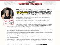 The Truth About Weight Gaining