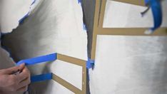 Remove the Tape, Transform the Room - So Crafty Scotch Tape, The Help, How To Remove, Crafty, Silhouette, Room, Painting, Bedroom, Painting Art