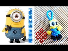Paracord Minion Tutorial Hey Weavers! Here's my take on how to make a paracord Minion!  This one is very easy to make and the only extra material you need for the paracord Minion is a googly eye and some super glue. I hope you all like this one and give it a try. Let me know what you think! (Note: After you make this Minion, it might be a good idea to attach a key ring to the top loop, otherwise if you pull on the feet, the core strand could come out.)