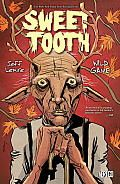 Sweet Tooth Vol. 6 by Jeff Lemire: A cross between Bambi and Cormac McCarthy's The Road, SWEET TOOTH tells the story of Gus, a rare new breed of human/animal hybrid children, who has been raised in isolation following an inexplicable pandemic that struck a decade earlier. Dr. Singh arrives in Alaska and...