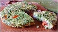 Frittata al vapore zucchine e cozze