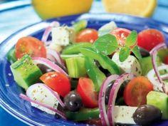 Choriatiki – sałatka grecka
