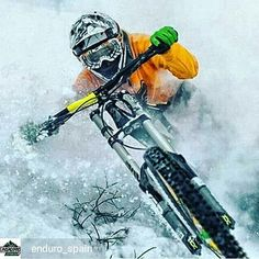 from - FULL GAS. Winter and snow are over and you have to enjoy them to the full ❄❄🏔🏔🤘🤘🔝🔝 ________________________________________________ Free online magazine of Enduro and. Freeride Mountain Bike, Mountian Bike, Mountain Biking, Best Mtb, Paint Bike, Bike Photoshoot, Best Mountain Bikes, Road Cycling, Mtb Downhill