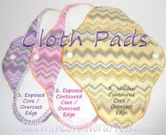 Free Cloth Menstrual Pad Sewing Pattern and Tutorial