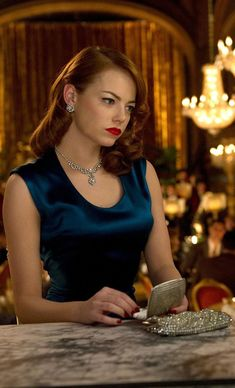 Gangster Squad - Emma Stone as Grace Faraday #GangsterMovie #GangsterFlick