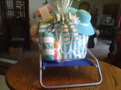 Beach basket for DZ