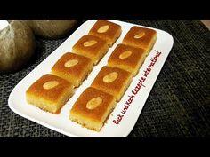Namoura arabischer Griesskuchen Basbousa Namura  بسبوسة  نمورة - YouTube Hot Dog Buns, Hot Dogs, Pastries, Oriental, Bread, Desserts, Food, Cake Cookies, Cooking