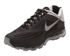 Nike Men\u0026#39;s Air Max Ultra Running Training Shoes-Black/Silver/Gray Nike,
