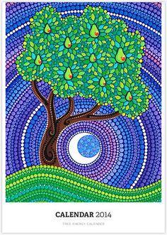 Pear Tree of Longevity porción Elspeth McLean Mandala Art, Mandala Painting, Elspeth Mclean, Dot Art Painting, 5d Diamond Painting, Aboriginal Art, Tree Art, Rock Art, Painted Rocks