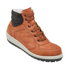 more photos 7f192 a575e Parade Brazza Premium Soft Brick Leather S3 Ladies Safety Boots Safety  Footwear, Red Leather,
