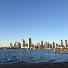 San Diego Bay & Skyline
