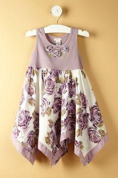 Cameo Rose Tank Dress