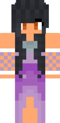 Aphmaus skin used at partys in Minecraft Diares