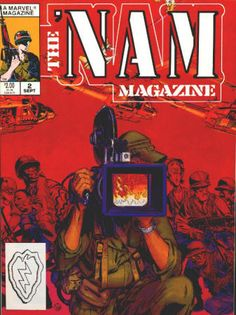 The 'Nam Magazine #2 from the #1-5 Set: NM-NM/M condition; Marvel 1988, well-produced B&W series covering stories from the Viet Nam war with Michael Golden artwork in all. All 5 issues for $20