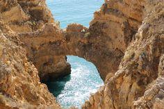 Gruta na Ponta da Piedade > Algarve > Portugal