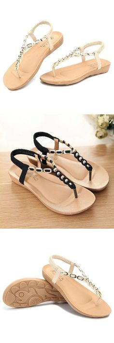 81bbc84d151c Women summer chic beach sandals strappy peep toe sandals bohemia slippers  sandals in macys  5