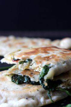 Spinach Gozleme My Recipes, Spinach, Snacks, Ethnic Recipes, Food, Appetizers, Essen, Meals, Yemek