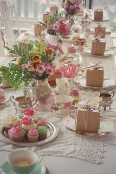 High tea party. mamabearskitchen.blogspot.com