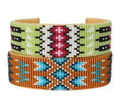 bracelet perles tissées - Recherche Google