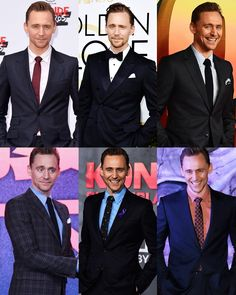 Here's a compilation that I found of Tom in suits because why not
