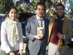 Pablo Zalaquet, mayor of Santiago, Chile, receives Srila Prabhupad's books Srila Prabhupada: In the material world, everything is full of anxiety (kuntha), whereas in the spiritual world (Vaikuntha)...