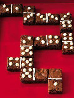Edible dominoes!