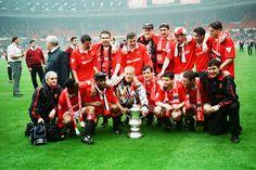 Manchester United v Chelsea FA Cup Final at Wembley Stadium, Saturday 14th May 1994.