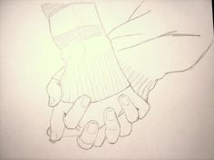 anime hands holding - Google Search
