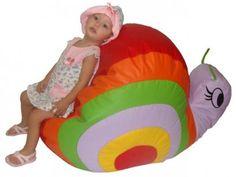 Puff Caracol Infantil - Stay Puff com as melhores condições você encontra no Magazine Linhatotal. Confira!