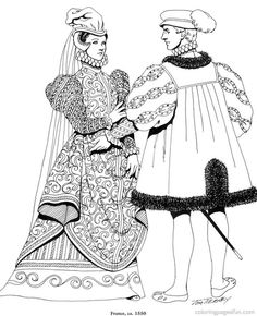 Medieval Fashions Coloring Book (013068) Details - Rainbow ...