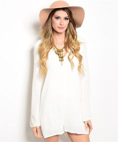 Madison Backless Romper