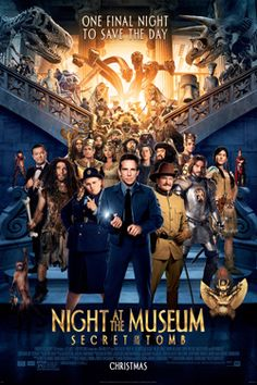 Night at the museum secret of the tomb. This was a good movie and i thoroughly enjoyed it