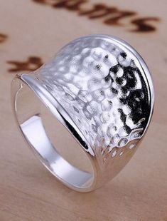 Chic and Stylish Silver Thumb Ring! $2.30