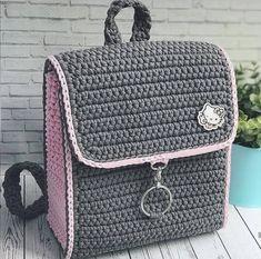 I Found These Elegant Crochet Bags . I Crochetbag - Crochet Tutorial - Best Knitting Mochila Crochet, Crochet Tote, Crochet Handbags, Crochet Purses, Crochet Crafts, Crochet Yarn, Crochet Wallet, Crotchet Bags, Knitted Bags
