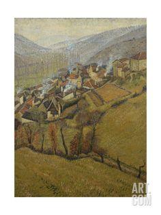 La Bastide Du Vert, Novembre Giclee Print by Henri Martin at Art.com