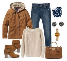 """""""Untitled #529"""" by gallant81 ❤ liked on Polyvore featuring Zara, Dirty Laundry, Mulberry, Patagonia, Giada Forte, Michael Kors and Hiro + Wolf"""