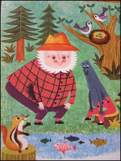 vintage children's illustrations -