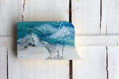 polar bear painting Illustration original on by treeillustration, $50.00