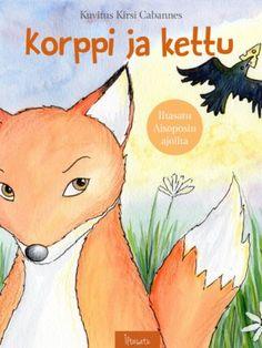 Korppi ja kettu Grimm, Story Time, Raven, Winnie The Pooh, Fairy Tales, Pikachu, Disney Characters, Fictional Characters, Literature