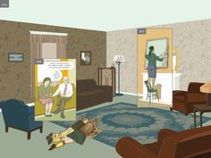 A dinosaur may have once snacked where you're sitting. A founding father may have argued for freedom, right where you stand. Fifty years from now? It could be robots napping in your bed, not you. These very notions—about the fluidity of time and our relationship to it—are at the center of artist Richard McGuire's charming new graphic novel, Here.