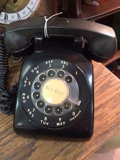 Rotary phone Rotary, Landline Phone, Technology, Tech, Tecnologia