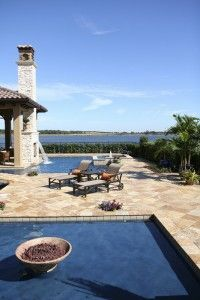 Luxury Pool and Backyard Landscape