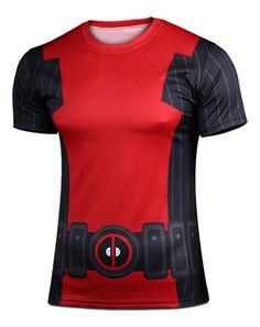 1b7b9fcdee8e Click to Buy    Deadpool Shirt Costume Men s Short Sleeves T-shirt.