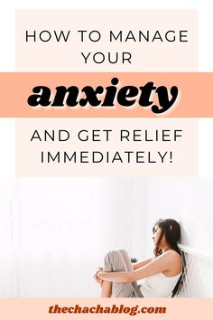 When in the midst of anxiety or a panic attack, try these 5 things for immediate relief! Anxiety, panic attacks, depression, mental health, self care, self love, mental health awareness, mindfulness, meditation, personal growth, personal development, how to calm down, ways to calm down. Mental And Emotional Health, Mental Health Matters, Mental Health Awareness, Panic Attacks, Calm Down, Mindfulness Meditation, Health Advice, 5 Things, Stress And Anxiety
